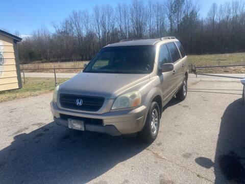 2004 Honda Pilot for sale at UpCountry Motors in Taylors SC