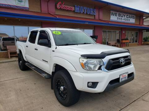 2015 Toyota Tacoma for sale at Ohana Motors in Lihue HI