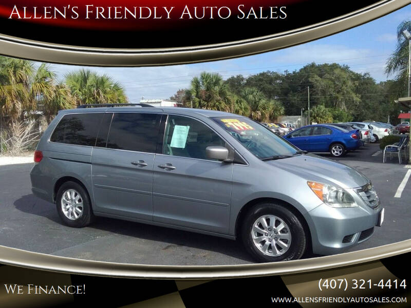 2010 Honda Odyssey for sale at Allen's Friendly Auto Sales in Sanford FL