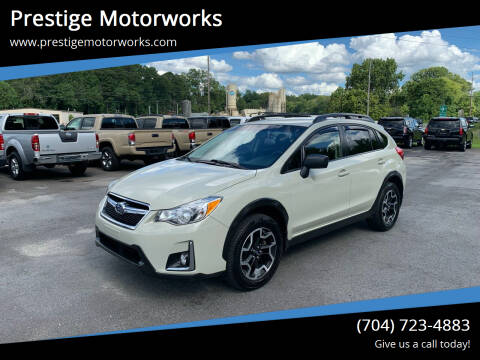 2016 Subaru Crosstrek for sale at Prestige Motorworks in Concord NC