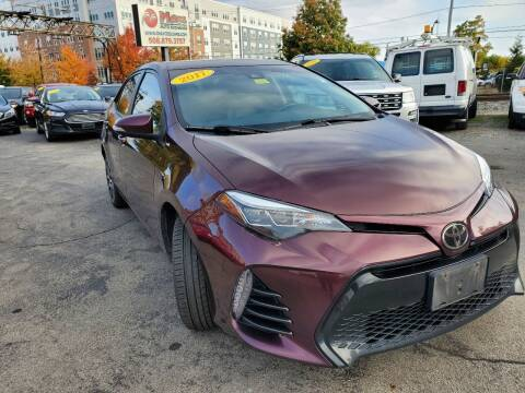 2017 Toyota Corolla for sale at Mass Auto Exchange in Framingham MA