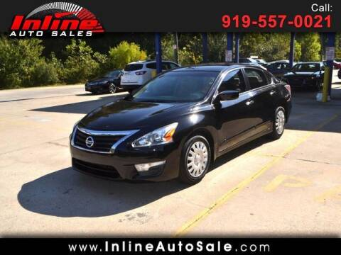 2014 Nissan Altima for sale at Inline Auto Sales in Fuquay Varina NC