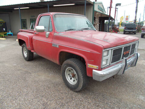 1986 GMC C/K 1500 Series for sale at MOTION TREND AUTO SALES in Tomball TX