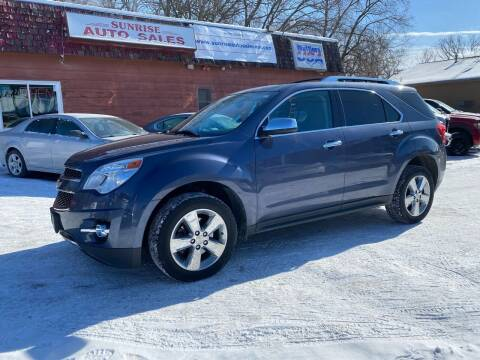 2013 Chevrolet Equinox for sale at Sunrise Auto Sales in Stacy MN