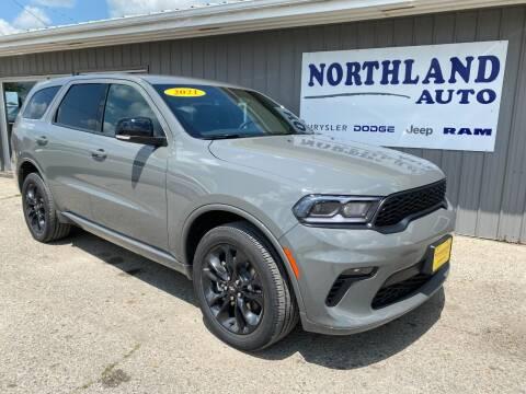 2021 Dodge Durango for sale at Northland Auto in Humboldt IA