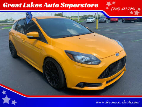 2014 Ford Focus for sale at Great Lakes Auto Superstore in Waterford Township MI