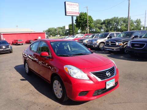 2014 Nissan Versa for sale at Marty's Auto Sales in Savage MN