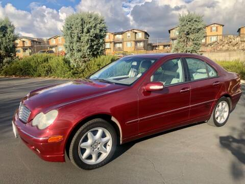 2002 Mercedes-Benz C-Class for sale at Select Auto Wholesales in Glendora CA