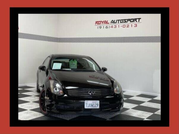 2005 Infiniti G35 for sale at Royal AutoSport in Sacramento CA