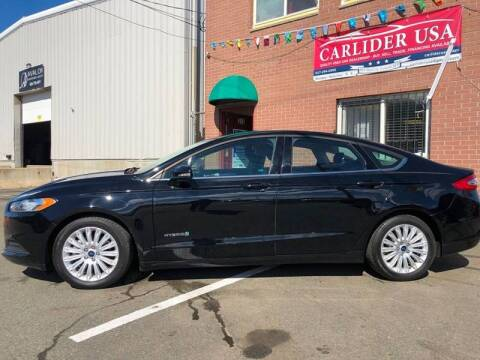 2016 Ford Fusion Hybrid for sale at Carlider USA in Everett MA