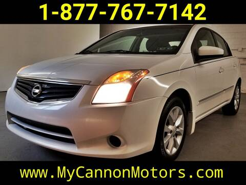 2010 Nissan Sentra for sale at Cannon Motors in Silverdale PA