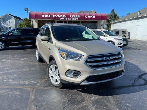 2017 Ford Escape for sale at Boulevard Used Cars in Grand Haven MI