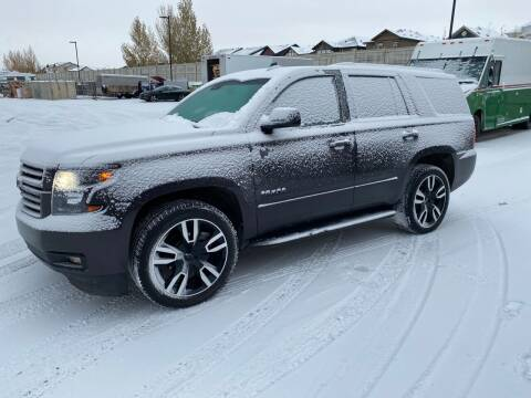 2018 Chevrolet Tahoe for sale at Canuck Truck in Magrath AB