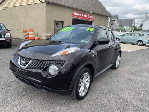 2014 Nissan JUKE for sale at VINNY AUTO SALE in Duryea PA