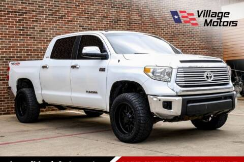 2014 Toyota Tundra for sale at Village Motors in Lewisville TX