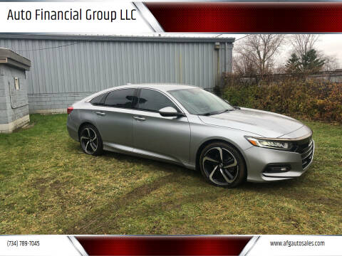 2018 Honda Accord for sale at Auto Financial Group LLC in Flat Rock MI