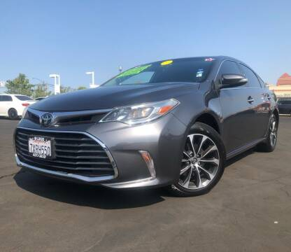 2017 Toyota Avalon for sale at LUGO AUTO GROUP in Sacramento CA