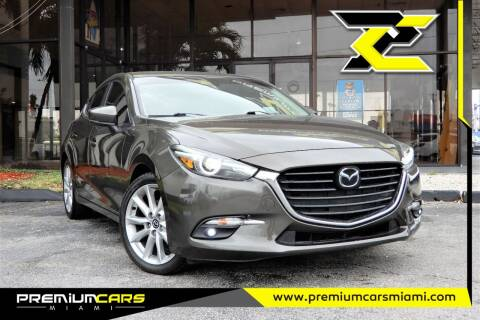2017 Mazda MAZDA3 for sale at Premium Cars of Miami in Miami FL