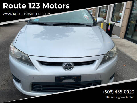 2012 Scion tC for sale at Route 123 Motors in Norton MA