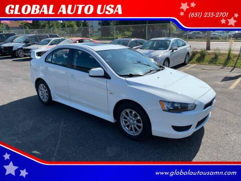 2011 Mitsubishi Lancer for sale at GLOBAL AUTO USA in Saint Paul MN