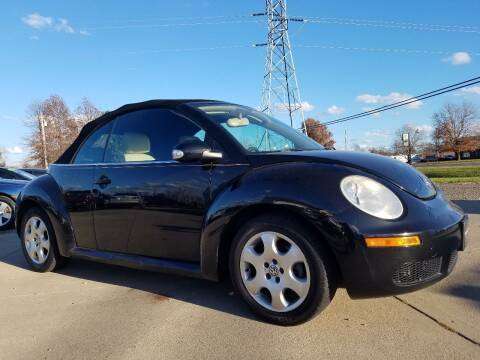 2008 Volkswagen New Beetle Convertible for sale at CarNation Auto Group in Alliance OH