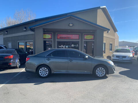 2012 Toyota Camry for sale at Advantage Auto Sales in Garden City ID