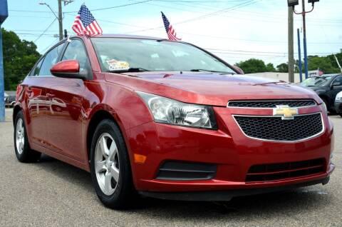 2011 Chevrolet Cruze for sale at Wheel Deal Auto Sales LLC in Norfolk VA
