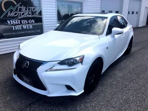 2015 Lexus IS 350 for sale at HILLTOP MOTORS INC in Caribou ME