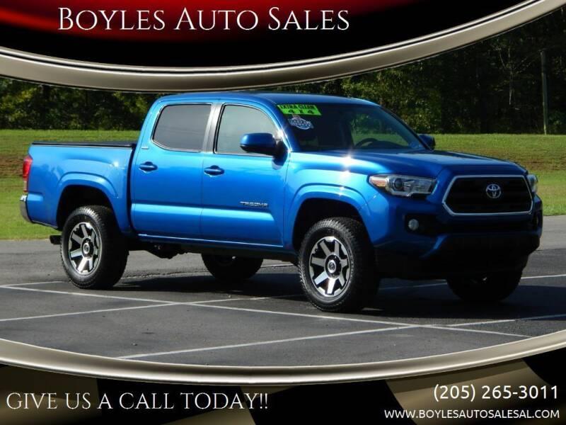 2016 Toyota Tacoma for sale at Boyles Auto Sales in Jasper AL