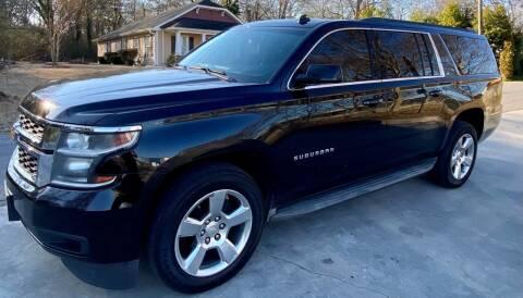 2015 Chevrolet Suburban for sale at E-Z Auto Finance in Marietta GA