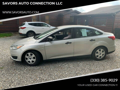 2015 Ford Focus for sale at SAVORS AUTO CONNECTION LLC in East Liverpool OH