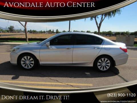 2014 Honda Accord for sale at Avondale Auto Center in Avondale AZ