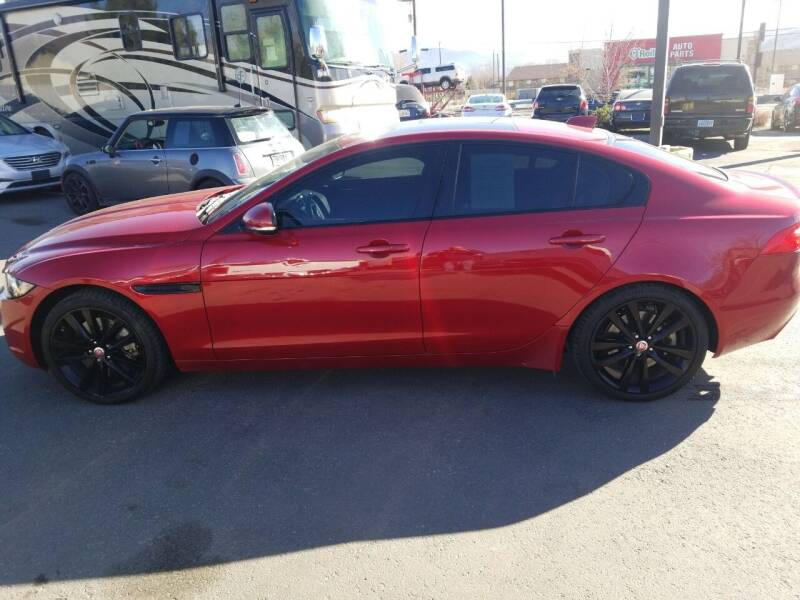 2017 Jaguar XE for sale at Freds Auto Sales LLC in Carson City NV