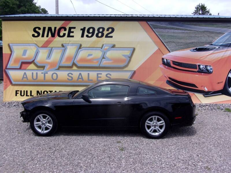 2014 Ford Mustang for sale at Pyles Auto Sales in Kittanning PA