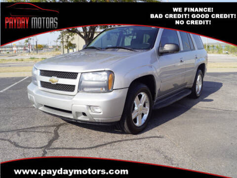 2008 Chevrolet TrailBlazer for sale at Payday Motors in Wichita And Topeka KS