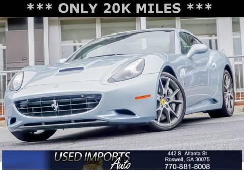 2011 Ferrari California for sale at Used Imports Auto in Roswell GA