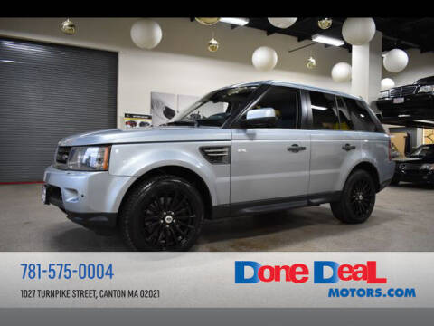 2011 Land Rover Range Rover Sport for sale at DONE DEAL MOTORS in Canton MA