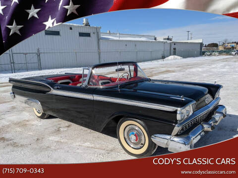 1959 Ford Galaxie for sale at Cody's Classic Cars in Stanley WI
