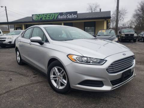 2013 Ford Fusion for sale at speedy auto sales in Indianapolis IN