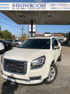 2015 GMC Acadia for sale at Showroom Auto Sales of Charleston in Charleston SC
