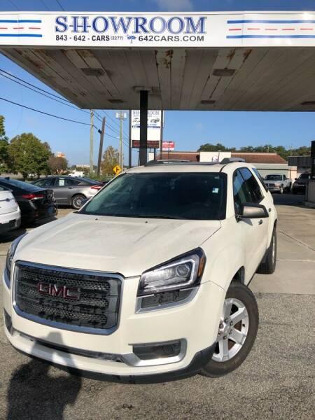 2015 GMC Acadia for sale at Showroom Auto Sales of Charleston in Charleston SC