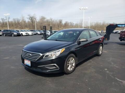 2017 Hyundai Sonata for sale at White's Honda Toyota of Lima in Lima OH