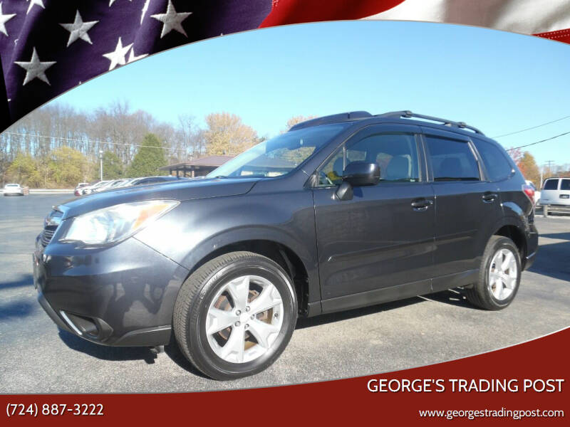 2014 Subaru Forester for sale at GEORGE'S TRADING POST in Scottdale PA