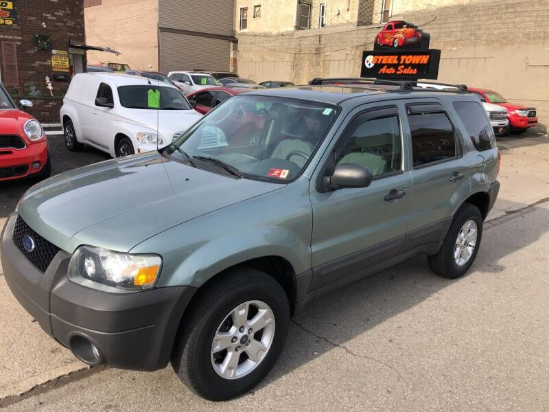 2007 Ford Escape for sale at STEEL TOWN PRE OWNED AUTO SALES in Weirton WV