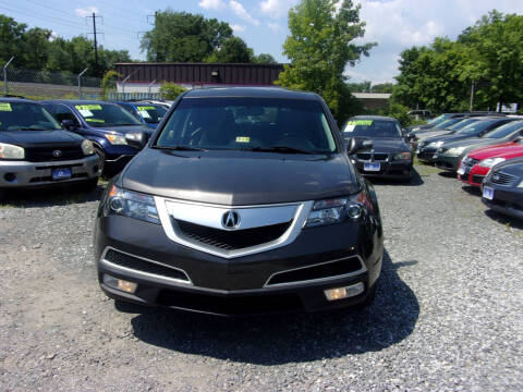 2012 Acura MDX for sale at Balic Autos Inc in Lanham MD
