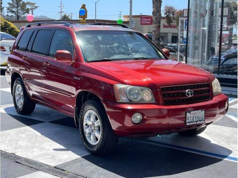 2002 Toyota Highlander for sale at AutoDeals in Daly City CA