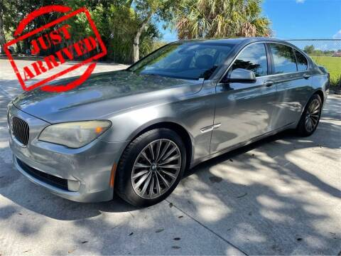 2011 BMW 7 Series for sale at Florida Fine Cars - West Palm Beach in West Palm Beach FL