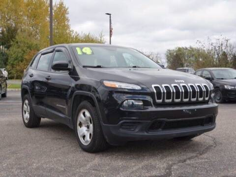 2014 Jeep Cherokee for sale at Szott Ford in Holly MI