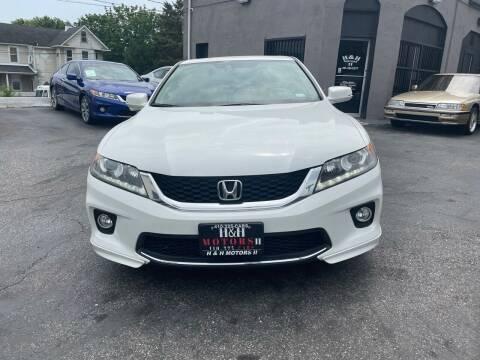 2015 Honda Accord for sale at H & H Motors 2 LLC in Baltimore MD