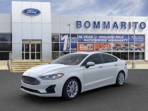 2020 Ford Fusion Hybrid for sale at NICK FARACE AT BOMMARITO FORD in Hazelwood MO